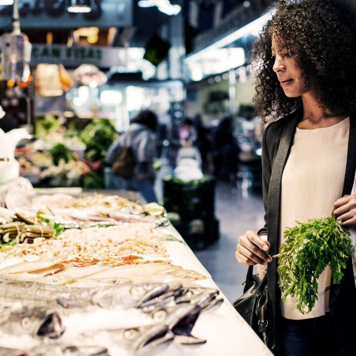 fisk,kvinna,fiskdisk