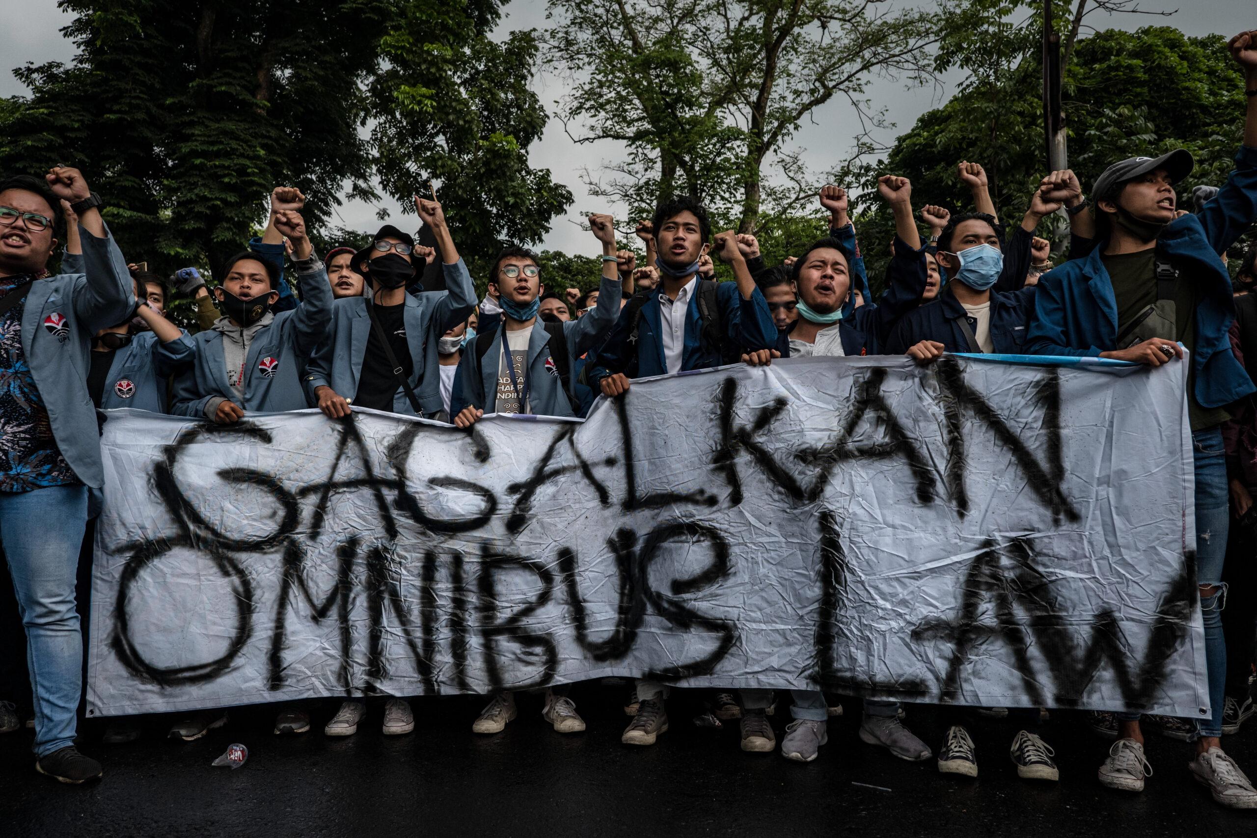 Miljöförsvarare, Indonesien, Omnibus