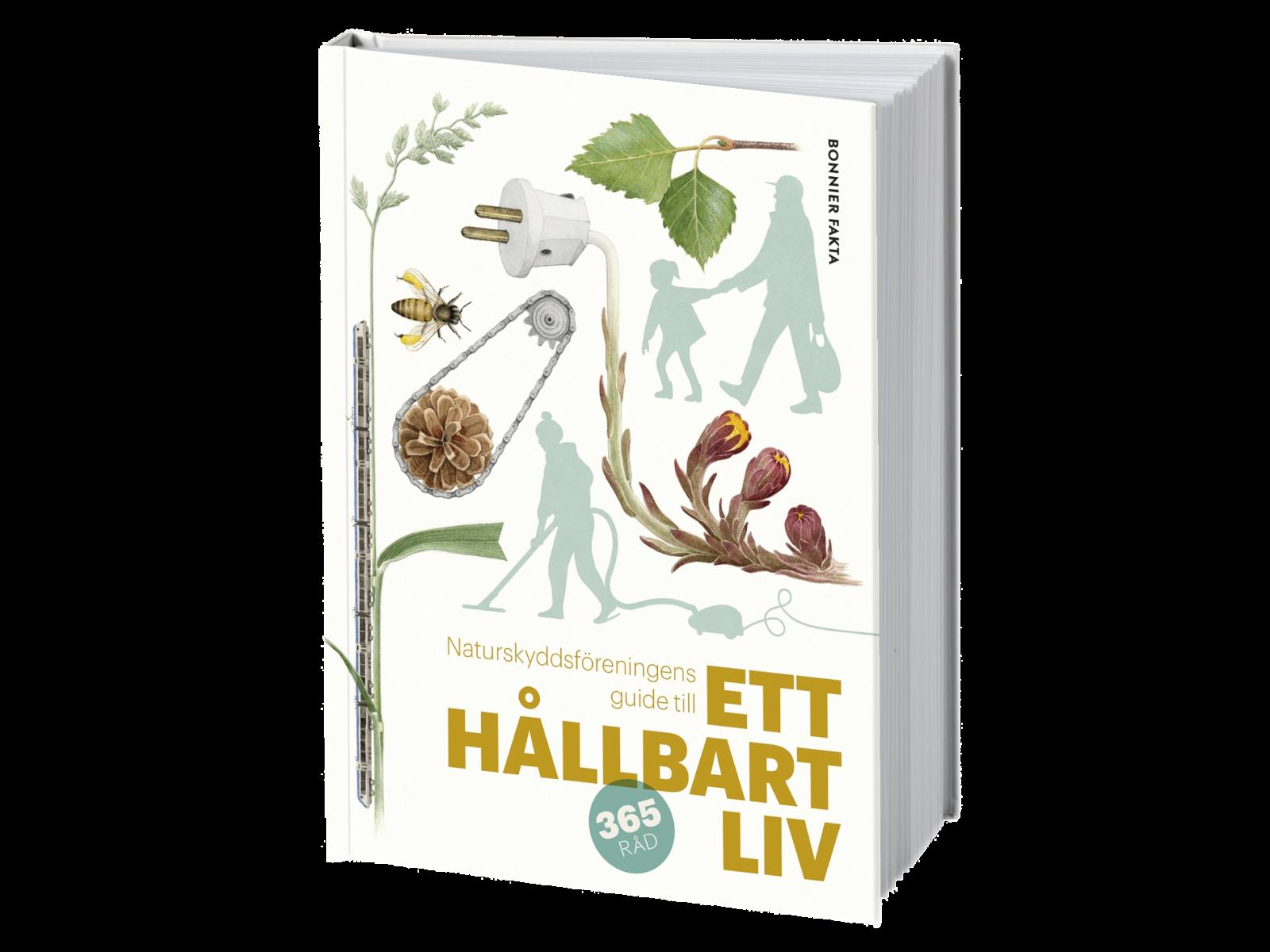 Bokomslag, Årets bok Ett hållbart liv.
