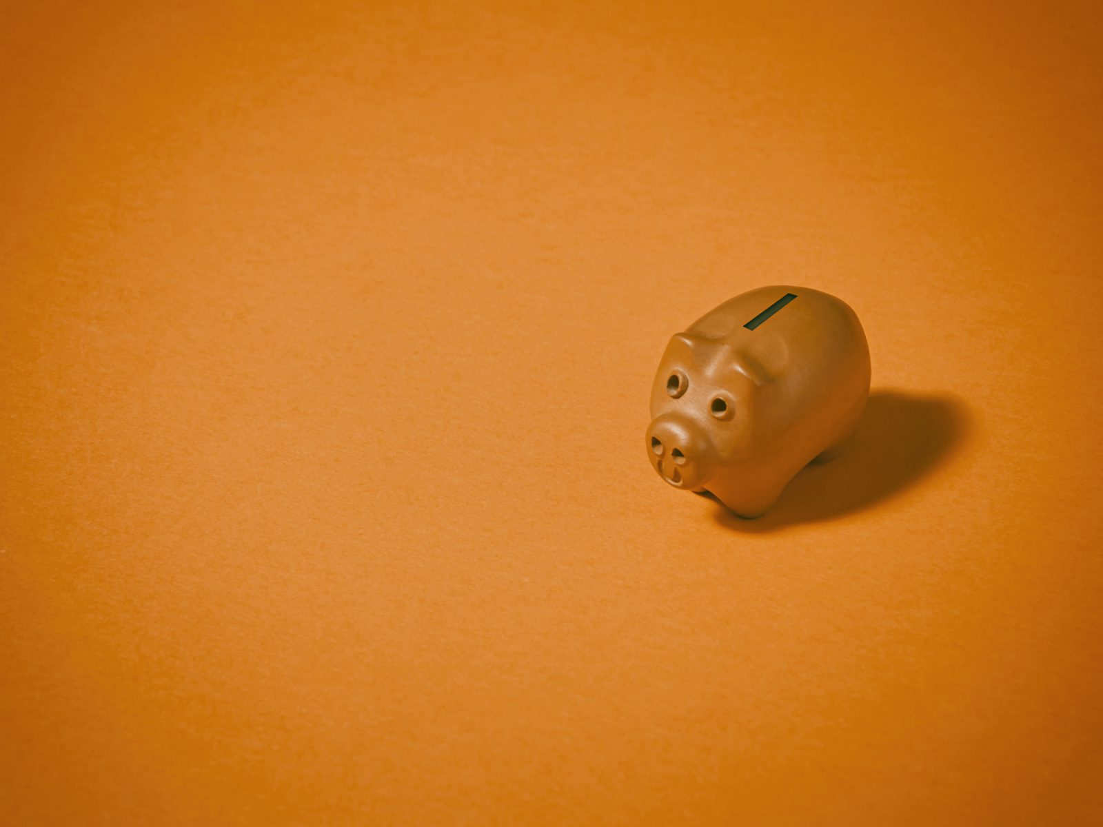 Spargris, bank, orange, gris, spara