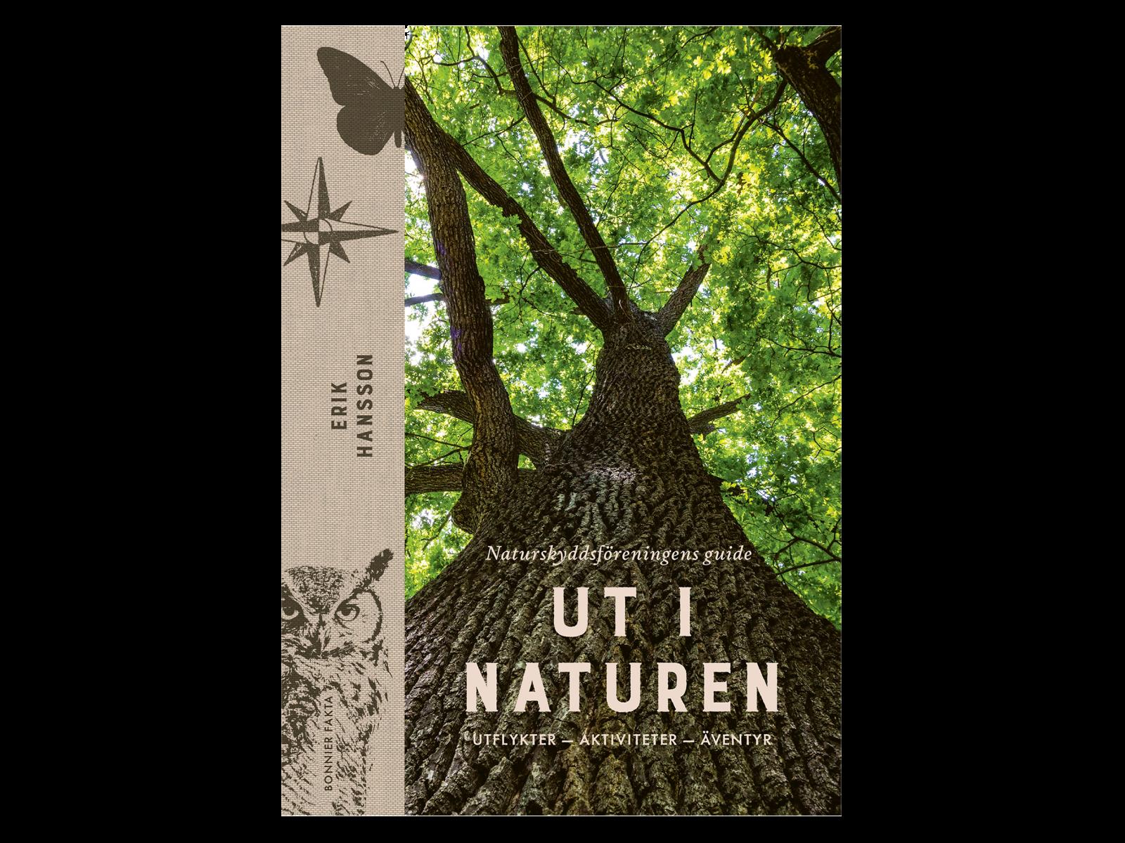 Bokomslag, e-bok, ut i naturen,