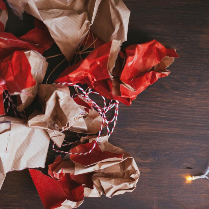 papper,presenter,julklappar,snöre,jul,ljusslinga