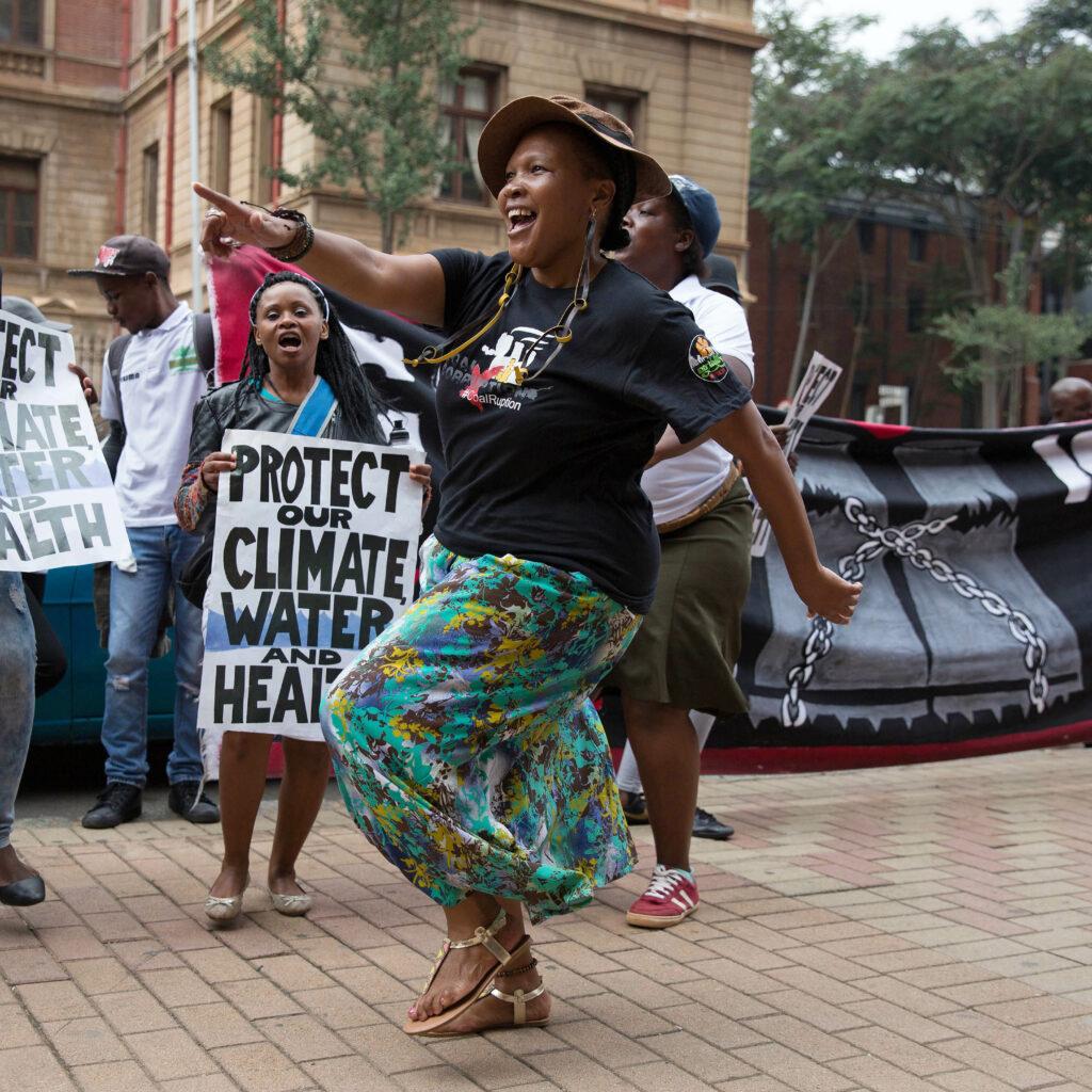 kol, klimat, demonstration, Sydafrika, klimatförändringar, växthusgaser, Earthlife Africa, CER, miljö, vatten, hälsa