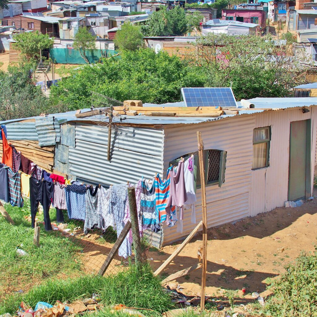 Solar, Energy, Settlement, Enkanini, Sol, Solpanel, Solceller, Tak, Sydafrika, Energi, Energifattigdom, Elektricitet, Västafrika