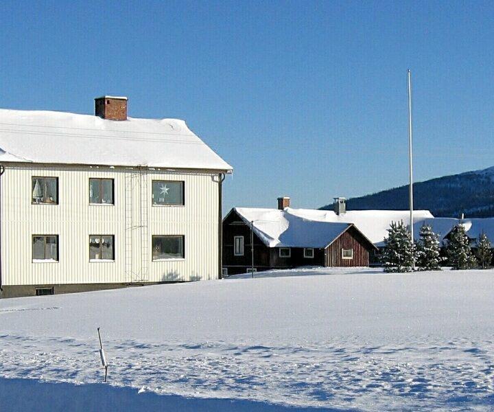 hus, snö, värme, villa, vinter, himmel, hus, lada, berg, topten