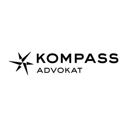 logotyp, logga, Kompass advokat,