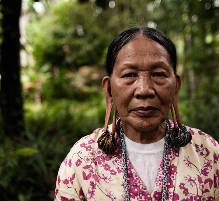 Malaysia, Sarawak, Penan, Urfolk, Kvinna