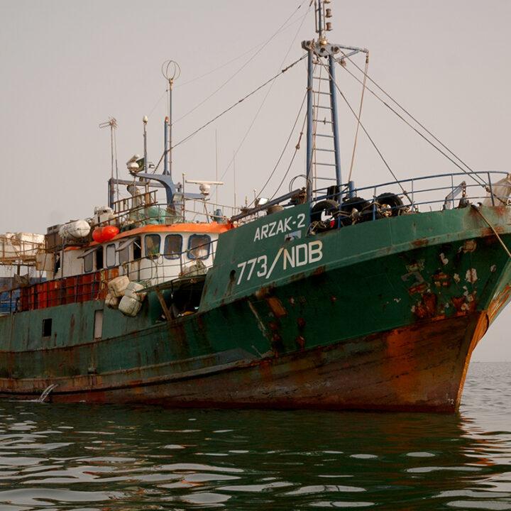 Trålare, Industriellt fiske, Afrika, Västafrika, Mauretanien, Fiskemetod, Fiske, Fiskare, Hav, Vatten