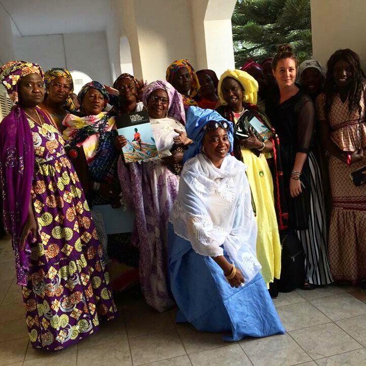 Västafrika, Rapport, Fiske, Småskaligt, CFFA, Samarbetsorganisation, Kvinnor