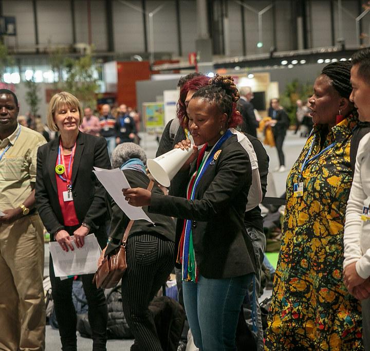 COP25, möte, Sydafrika, Lexén, samarbete, uttalande