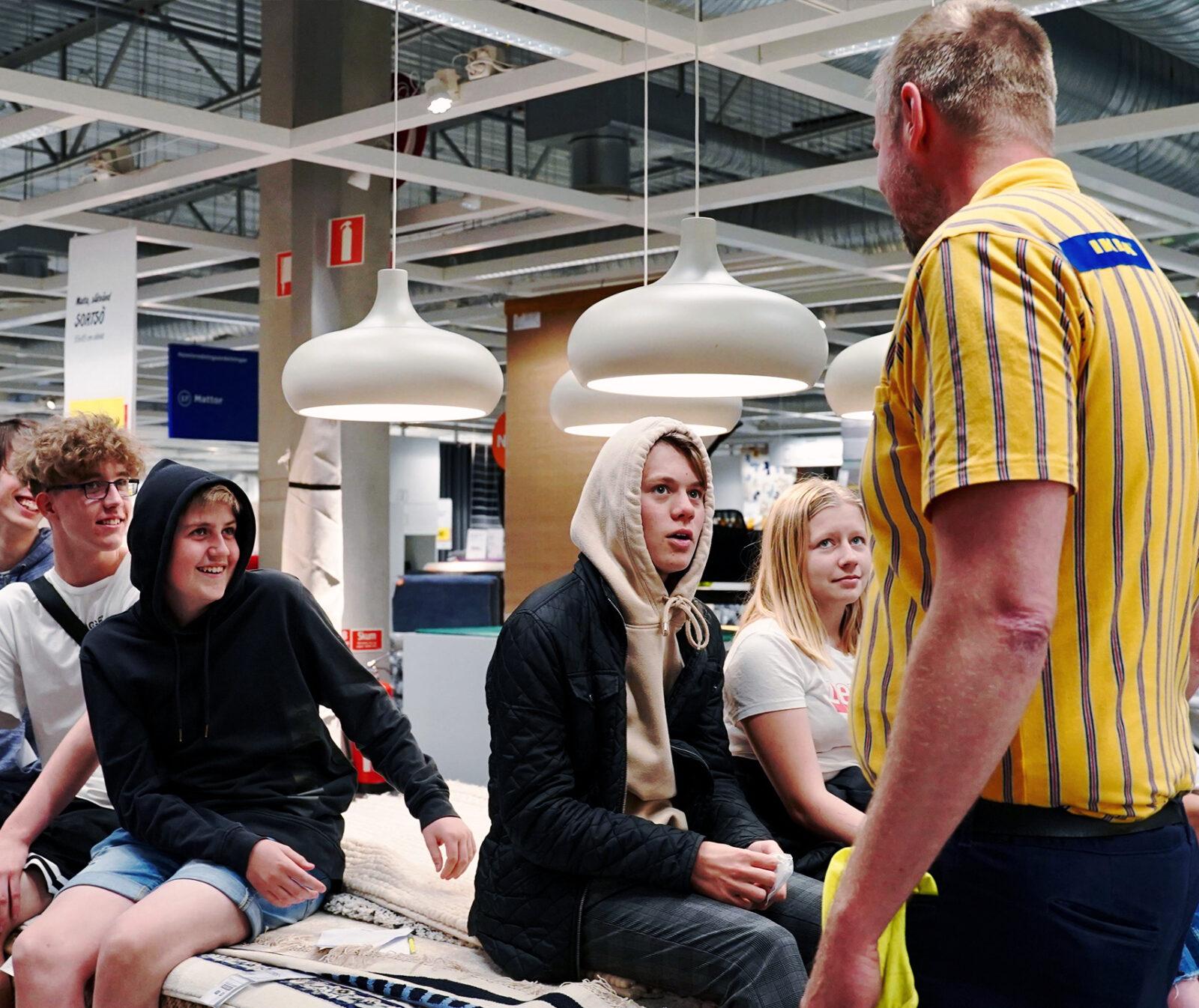 skolprogram, högstadiet, IKEA, samarbete, skola