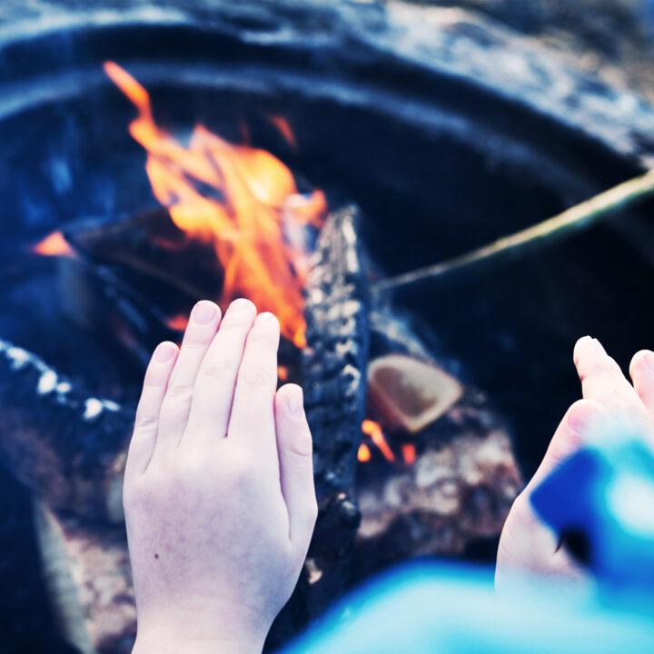 skolövning, vad, brinner, eld
