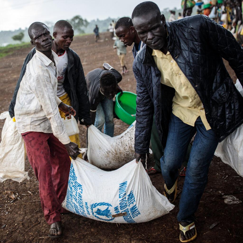 Human Interest, Human Rights, People, politics, Politics, FeedRouted_Global, WFP, matleverans, mat, hunger, svält, flyktingar, Kongo, DRC, Afrika