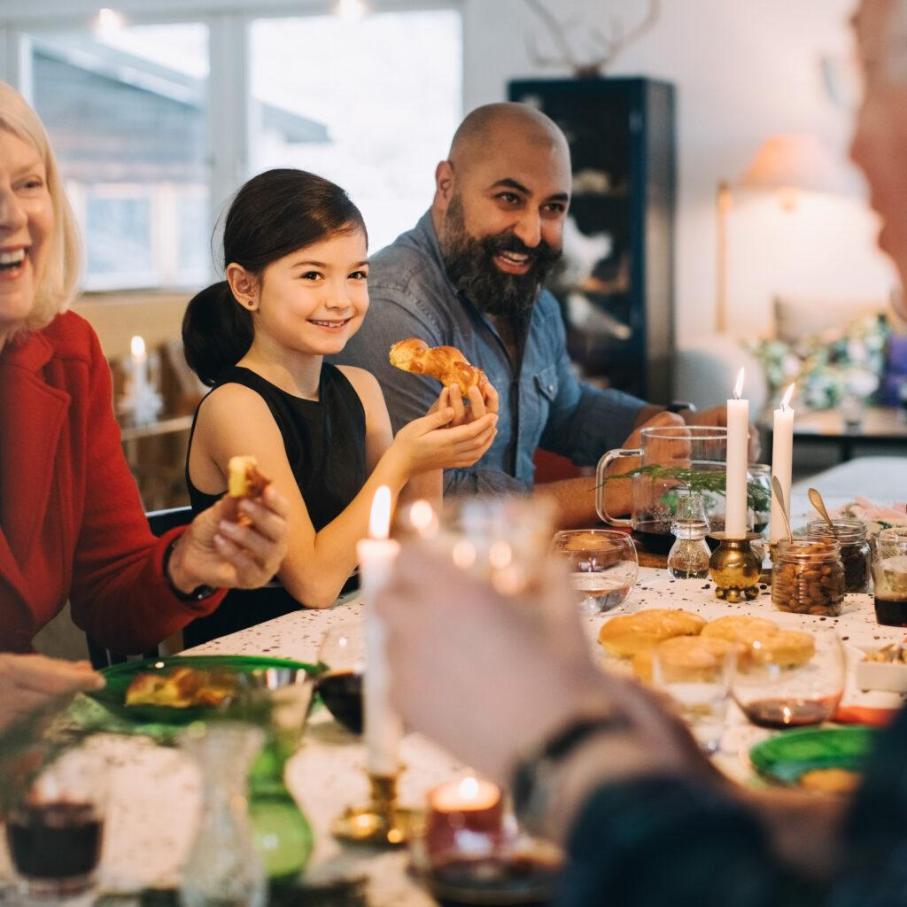 julafton, kaffe, fritid, livsstil, mat, firande, julklapp, familj