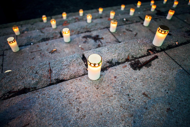Benjamin Ramos,Ljusmanifestation,Medborgarplatsen,Miljöförsvarare