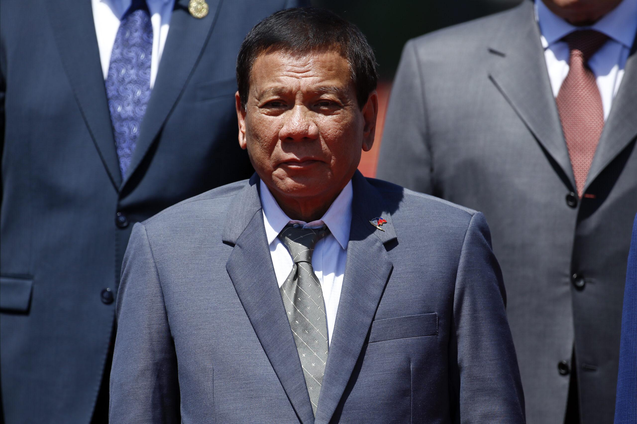 President, Filippinerna, Duterte, miljöförsvarare
