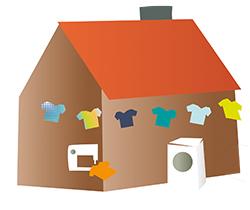 klädskolan, konsumtion, laga, tvätta, klädkonsumtion
