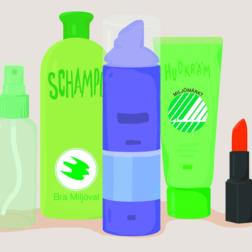 flaskor, flaska, schampo, hudkräm, badrumsprodukter, smink, kosmetika, badrum