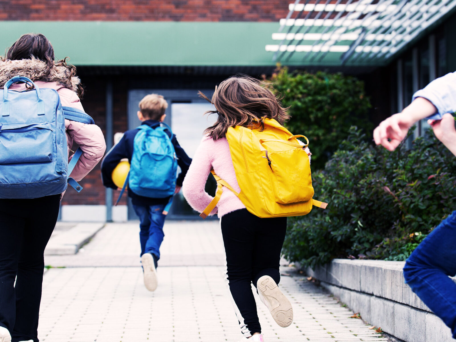skola, barn, ryggsäck
