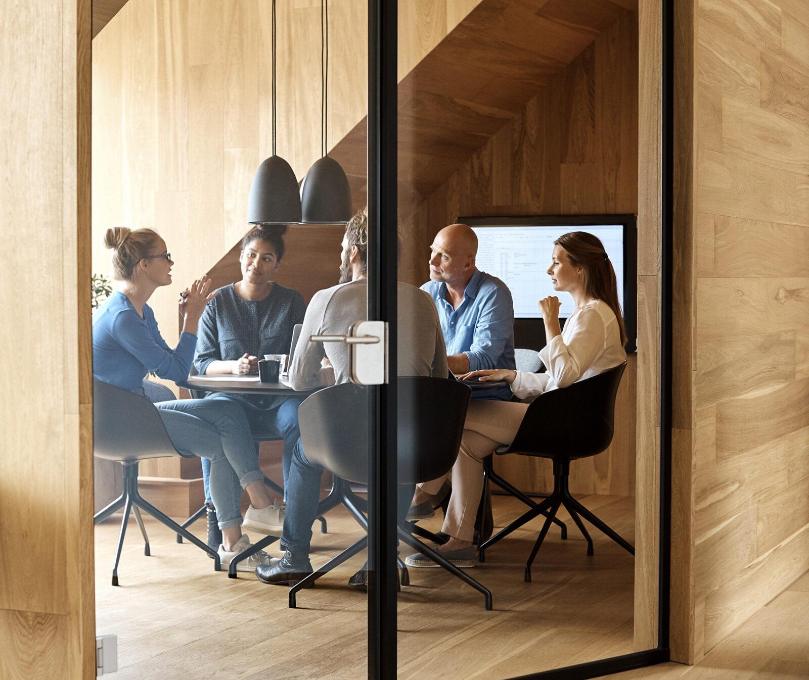 människor, grupp, kontor, professionell, upphandling, skrivbord, 997745894