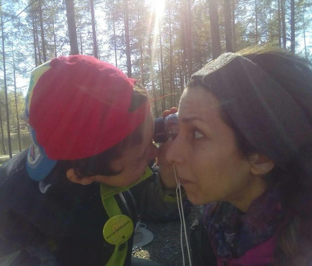 Naturkärlek från Syrien till Norrbotten – Hind Rizq har älskat naturen hela sitt liv och har mycket kunskap om den.