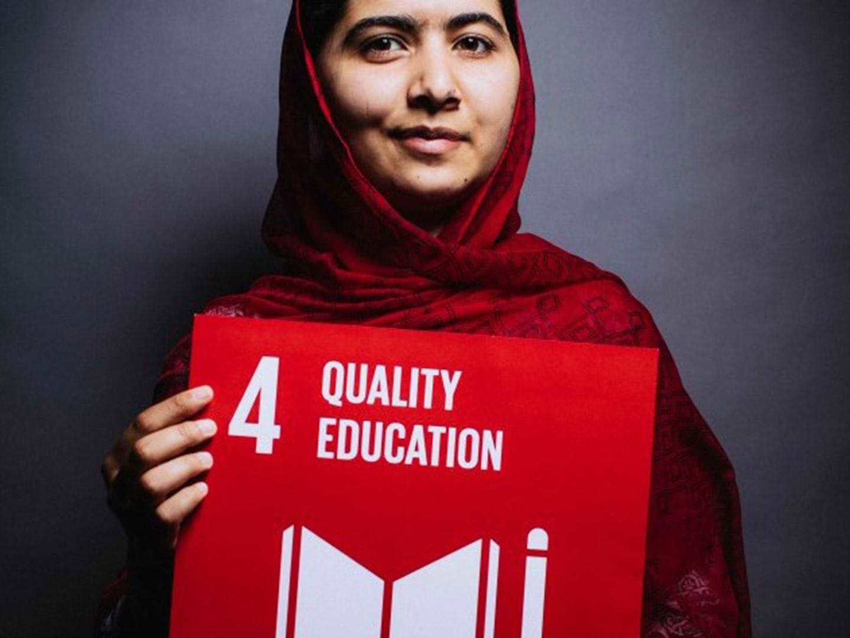 sdg, 4, globala, målen, malala, utbildning