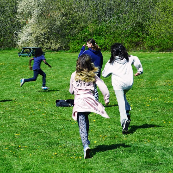 medspringikroppen, rörelse, springa, tröskelövning