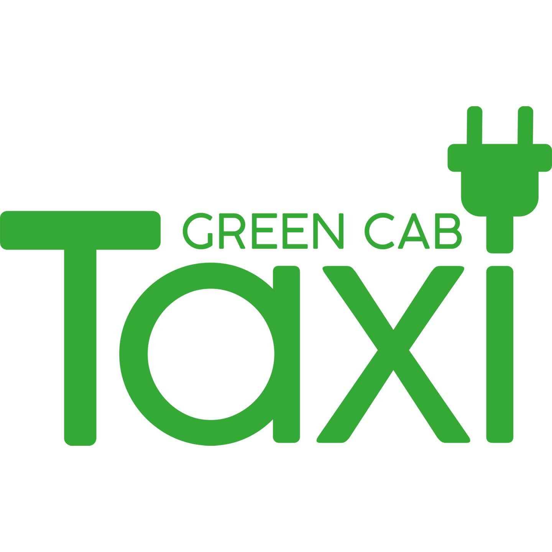 logotyp, logga, logo, green-cab, persontransporter