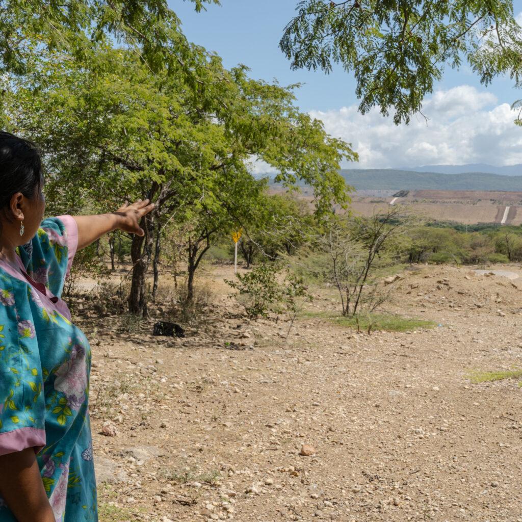 Colombia, Cerrejón, kolgruva, lantbruk, jordbruk, pensioner