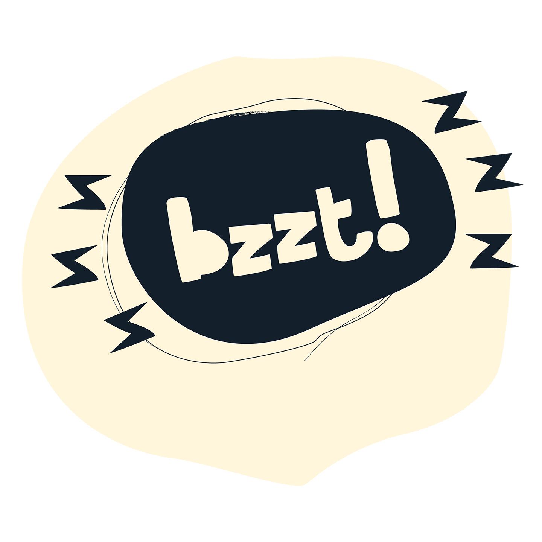 Logotyp Bzzzt