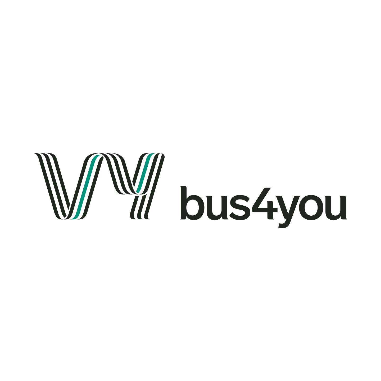 logotyp, logga, logo, bus4you, persontransporter
