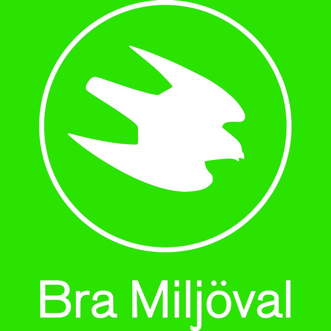 logga, logotyp, vit, negativ, bra-miljöval, miljömärkning
