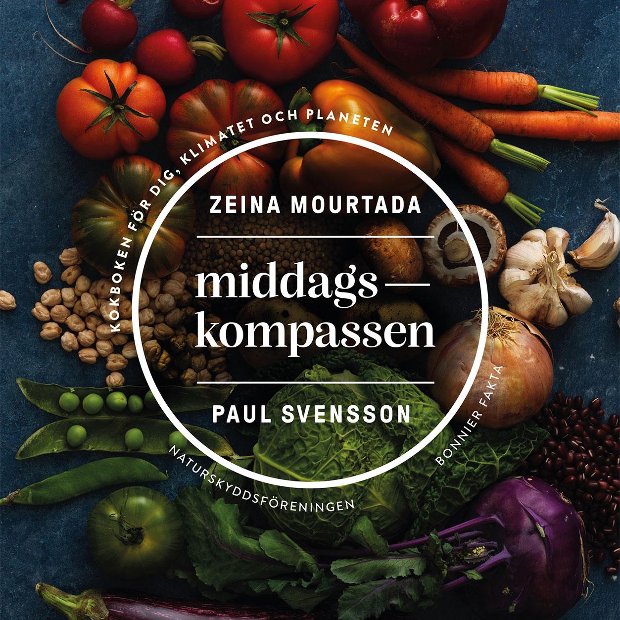 Middagskompassen, bokomslag, årets bok, zeina, paul svensson