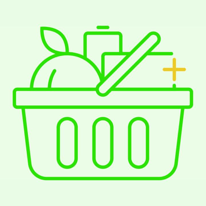 ikon, livsmedelsbutik