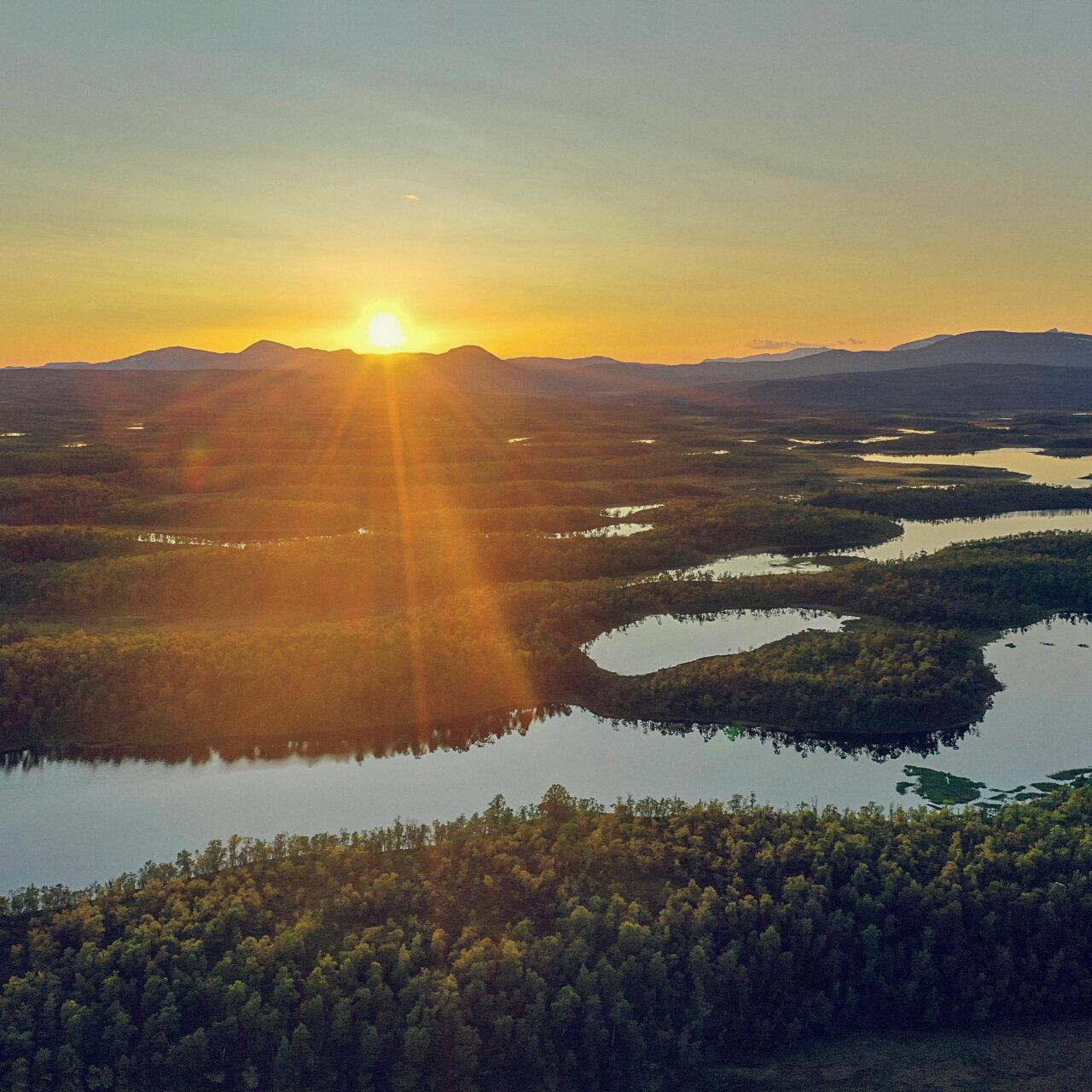 natur, solnedgång, landskap, insamling, bli medlem, marknad, sjöar, skymning, berg, skog, CTA