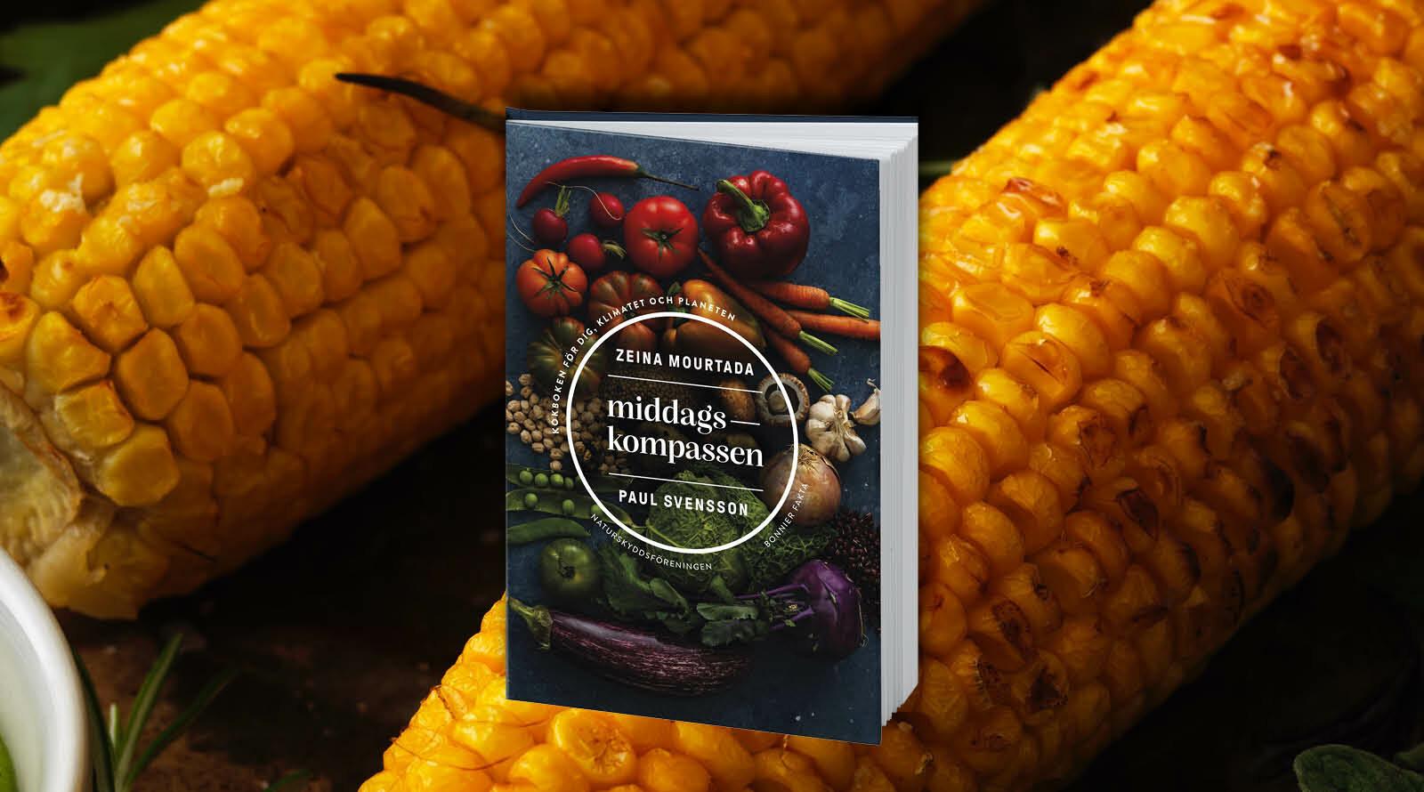 Årets bok, Middagskompassen, bokomslag, mat, recept