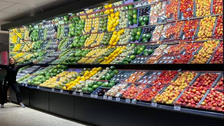 livsmedelsbutik, frukt, miljömärkt, ica-torgkassen, licenstagare