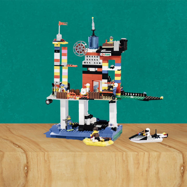 2053, bortom, fossilsamhället, museiföremål, leksak, Lego